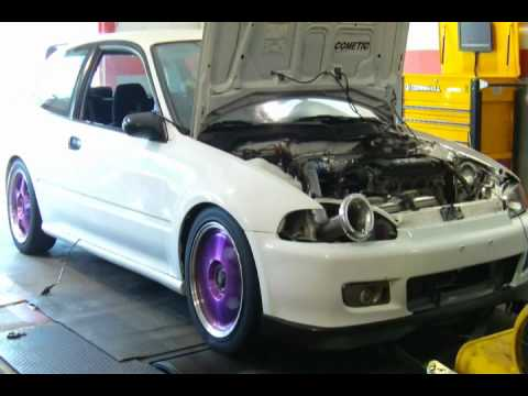 Stock H22a dyno 220 hp 170ft-lbs