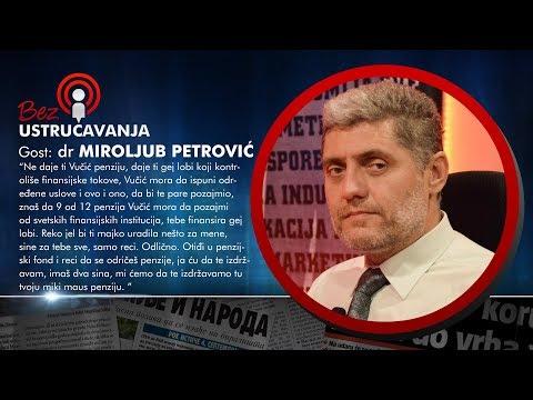 BEZ USTRUAVANJA - Miroljub Petrovi: Gej lobi kontrolie veliki deo finansijskih tokova u Srbiji!