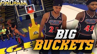 We BOTH Went Off For 30+ POINTS - Wetting 3s ALL GAME! NBA 2K18 Pro Am Gameplay