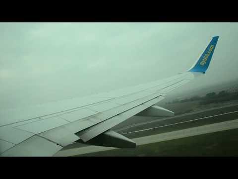 Ukraine International Airlines Boeing 737-800 Full Flight From Kiev To London Gatwick+ Hotel