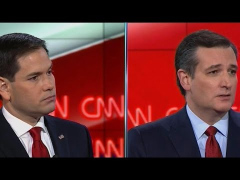 Ted Cruz and Marco Rubio spar on immigration reform