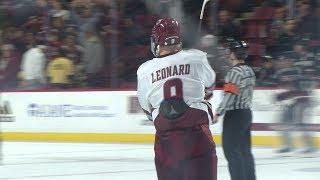 Highlights: John Leonard Shines As UMass Hockey Beats Northeastern