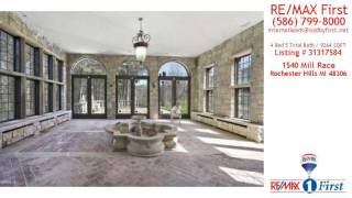 Home For Sale - 1540 Mill Race, Rochester Hills, Mi