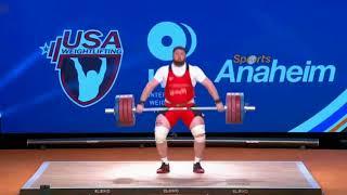 Лаша Талахадзе рывок 220 кг, +105 кг...
