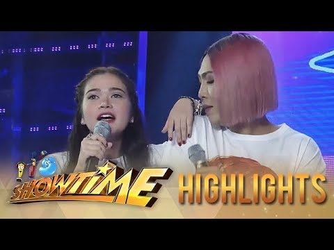 "It's Showtime Miss Q & A: Bela's ""hugot"" song for Vice"