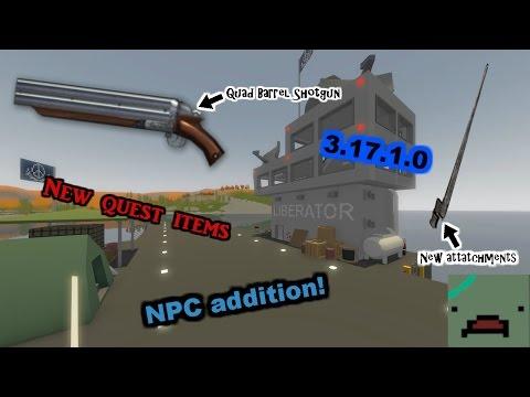Unturned Update 3.17.1.0: BAYONET AND NEW SHOTGUN!!! (NPC update and future)