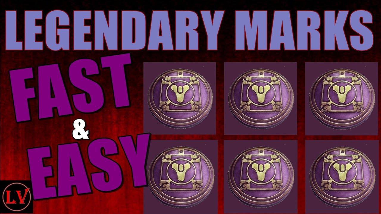 Destiny Legendary Marks Farming Guide