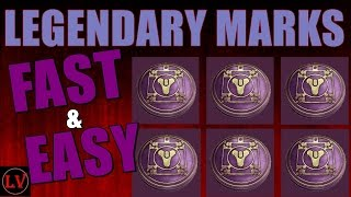 Destiny Legendary Marks Farming Guide | April Update | How To Get Legendary Marks Fast in Destiny