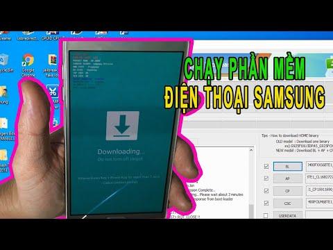 Cách chạy phần mềm điện thoại Samsung chi tiết