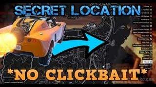 Secret Location Of The Rocket Car (Rocket Voltic) GTA V *NO CLICKBAIT*