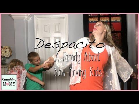 """Luis Fonsi Justin Bieber Daddy Yankee - """"Despacito"""" PARODY Laughing Moms"""