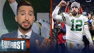 Download Nick Wright reacts to Packers' win over Lions after controversial calls | NFL | FIRST THINGS FIRST Mp3 and Videos