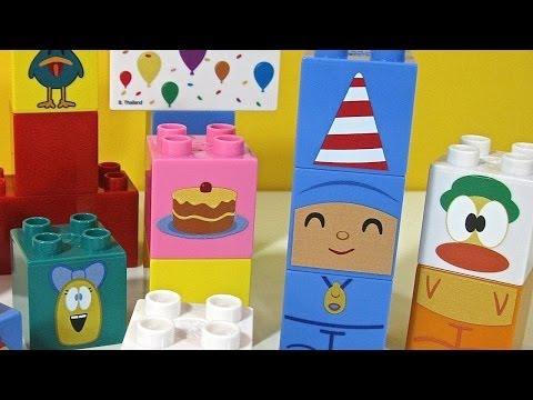 Pocoyo Birthday NEW Block Labo World Block Bandai - Juguetes de Pocoyo