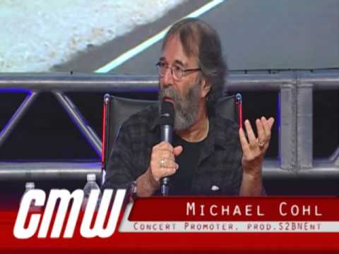 Concert Promoter & Touring Impresario Michael Cohl