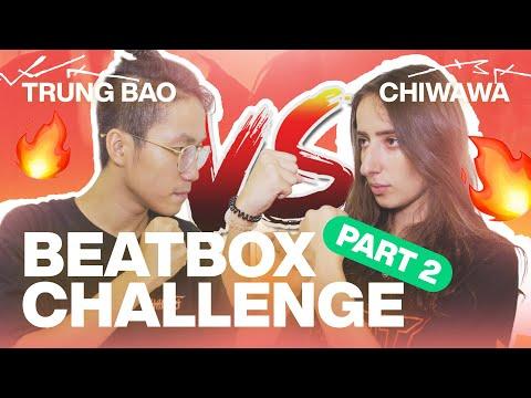 Boyfriend Vs Girlfriend Beatbox Challenge 🔥 (Part 2) - Trung Bao & Chiwawa