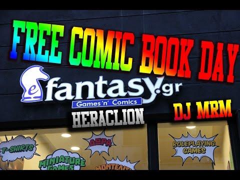 FREE COMIC BOOK DAY ΣΤΟ E-FANTASY! | DJ MRM