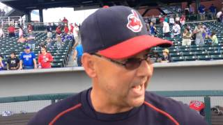 Terry Francona talks about managing a team full of prospects such as Clint Frazier