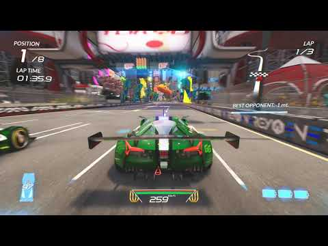 Xenon Racer - Nebular GT on Tokyo: Downtown Circuit Race Gameplay (4k 60fps) Mp3