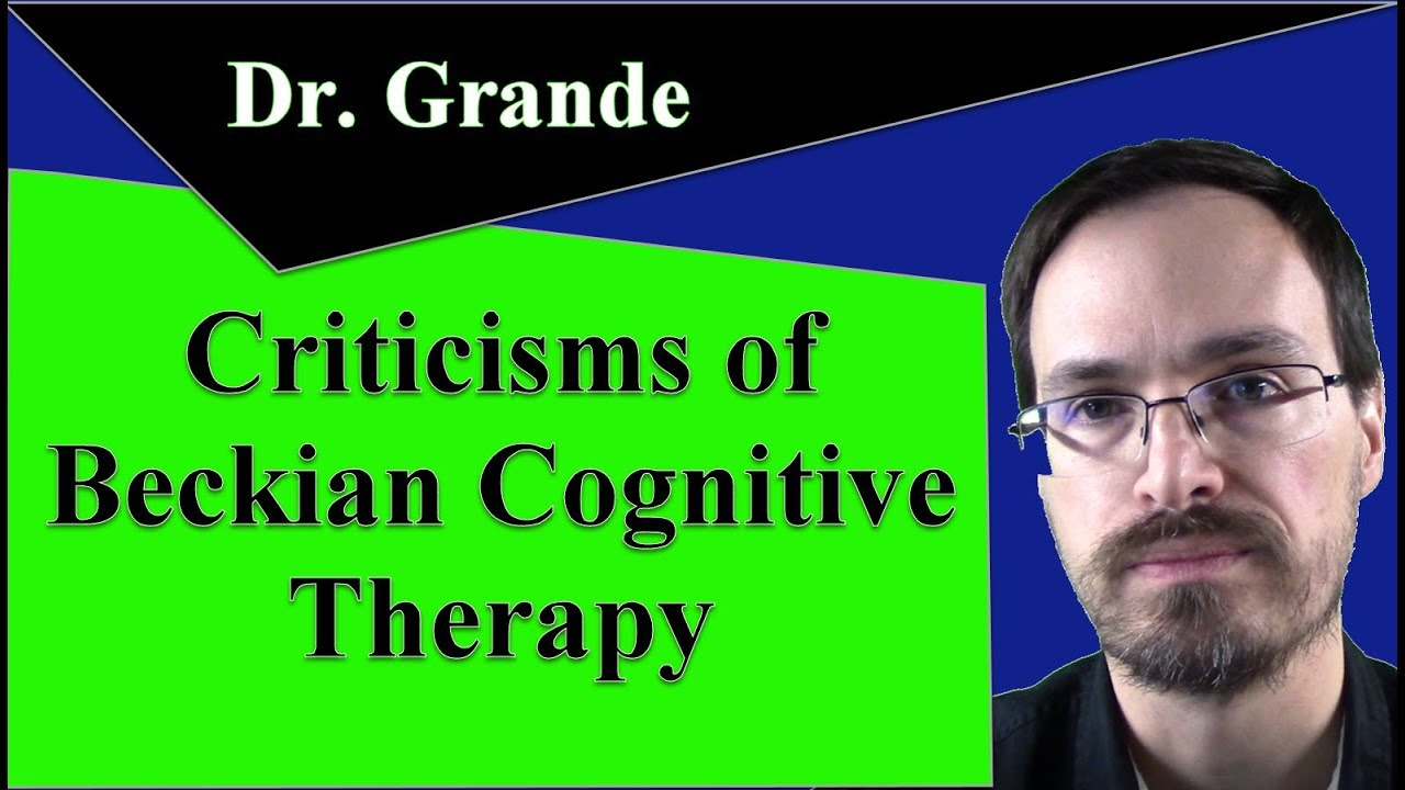 beckian cognitive therapy Cognitive behaviour therapy 1 (cbt 1)  3 beckian approach for  cognitive therapy of anxiety disorders: a practice.