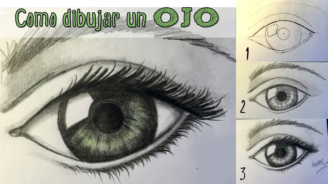 Cómo Dibujar Un Ojo Realista Aprender A Dibujar Paso A Paso Youtube