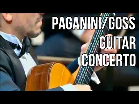 Artyom Dervoed & Mikhail Pletnev play Paganini/Goss guitar concerto with RNO