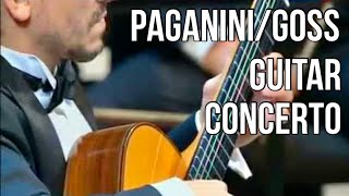 Artyom Dervoed plays Paganini/Goss guitar concerto.Mikhail Pletnev & RNO