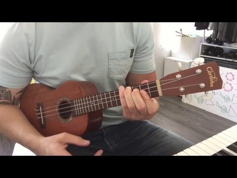 How to play the Harry Potter (Hedwig's Theme) song on ukulele