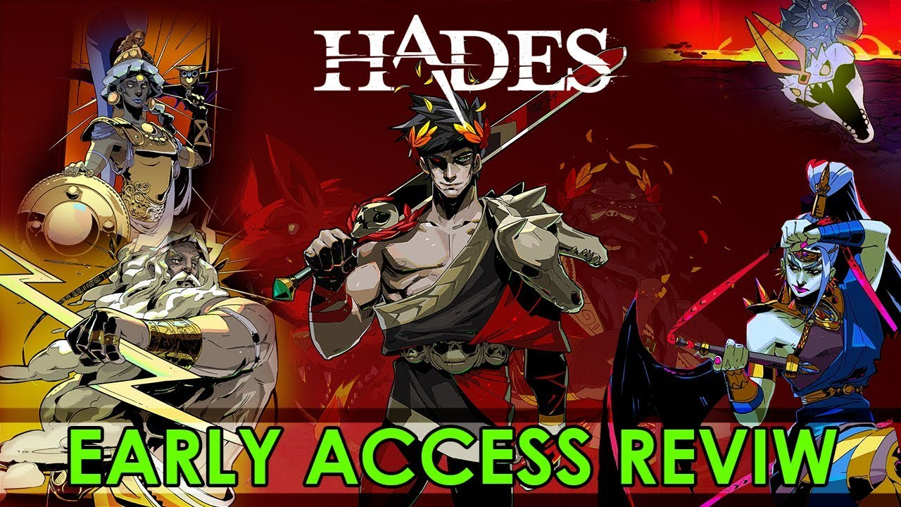 Hades Game Review - New Early Access Game on Epic Store