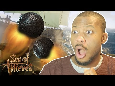 EPIC CANNON BATTLE!! - Sea of Thieves