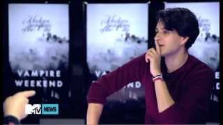 Vampire Weekend play the Newlywed Game