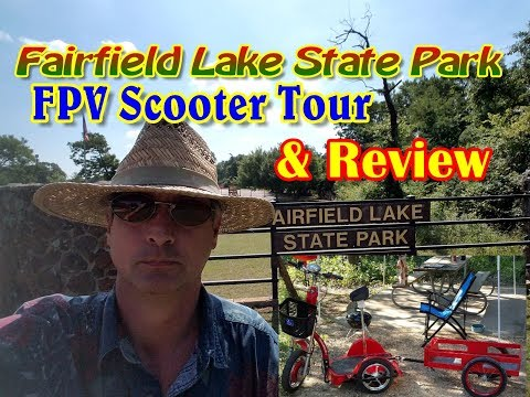 Fairfield Lake State Park, Texas [Official FPV Scooter Tour]