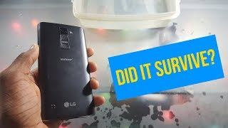 LG K8 V Water Test | Can It Survive for 5 Minutes?