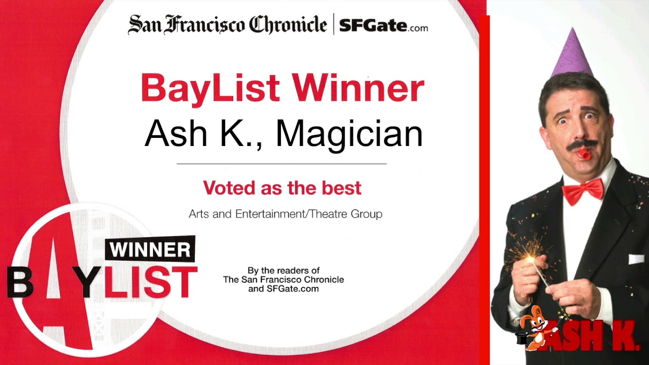 San Francisco Bay Area Magician Ash K