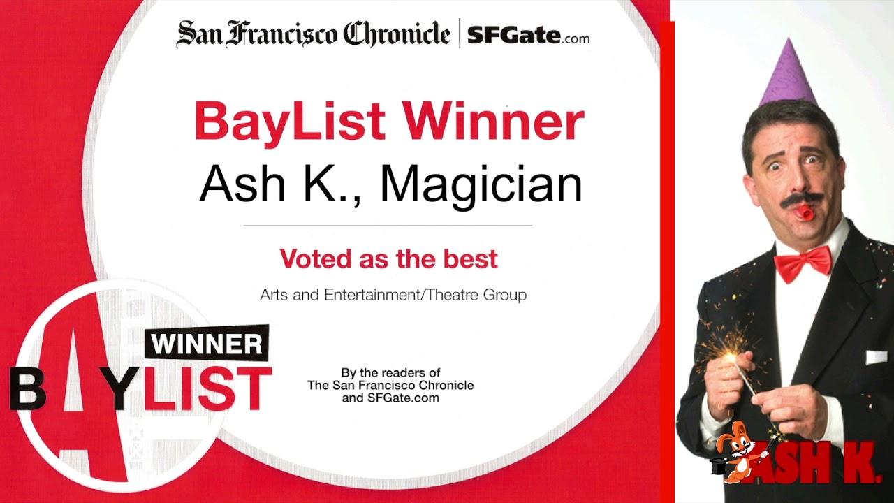 San Francisco Bay Area Magician Ash K