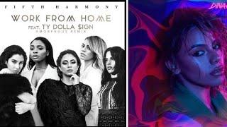 Fifth Harmony & Dinah Jane Work Bottled Up [Mashup]