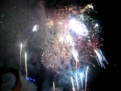 pháo hoa - Rạch Giá Kiên Giang 2011