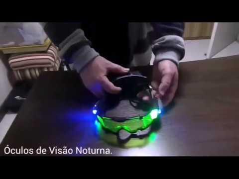 Óculos de Visão Noturna. - YouTube 391a0b68bb