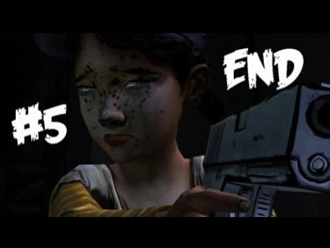SADDEST.EPISODE.EVER. | The Walking Dead: Season One - Episode Five ENDING [FULL]