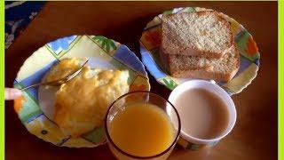 Готовим Омлет с сыром/ Быстрый завтрак