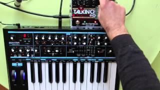 Electro Harmonix Stereo Talking Machine + Bass Station II