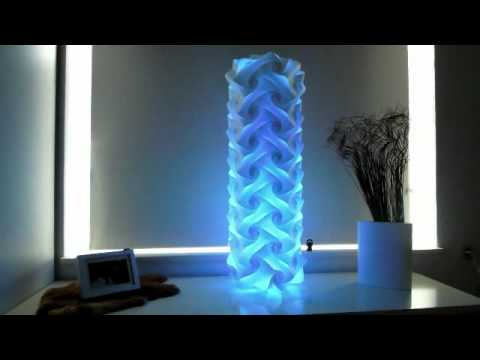jigsaw led rainbow lampe youtube. Black Bedroom Furniture Sets. Home Design Ideas