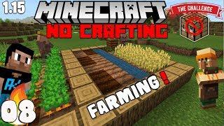 "Minecraft : No CraftingTable Ep08 ""I Got Hoes"" wt Akan22 ""Minecraft Hindi"" 1.15.1"