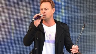 Jason Donovan Performing Sealed With A Kiss Live At Blackpool IFest 5 September 2015