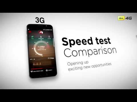 How fast is IDEA  4G