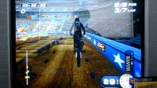 PS2 MX Superfly Featuring Ricky Carmichael 125cc Supercross Race