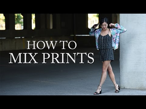 HOW TO MIX PRINTS IN YOUR OUTFIT
