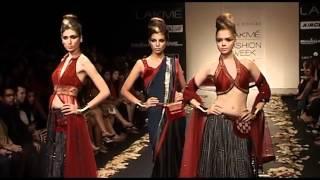 Lakme Fashion Week Indian Traditional Wear