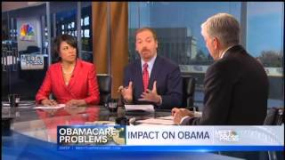 Chuck Todd: White House Touting Healthcare.gov