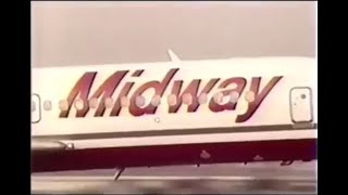 1990 Midway Airlines to Florida Commercial