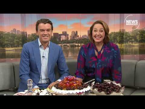 ABC News Breakfast: Cooking with Cherries